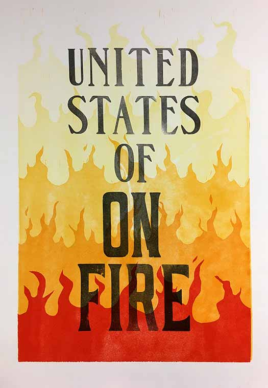 United States Of On Fire
