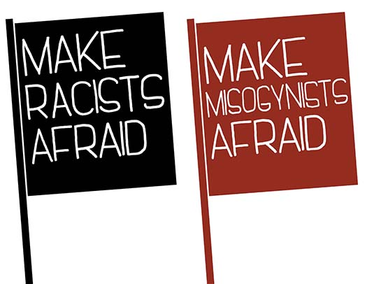 Make Afraid Flags