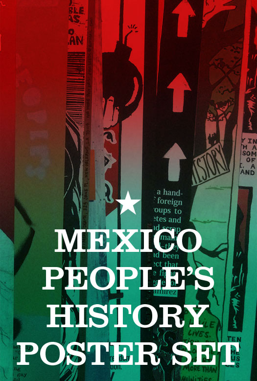 People's Struggles in Mexico Poster Pack