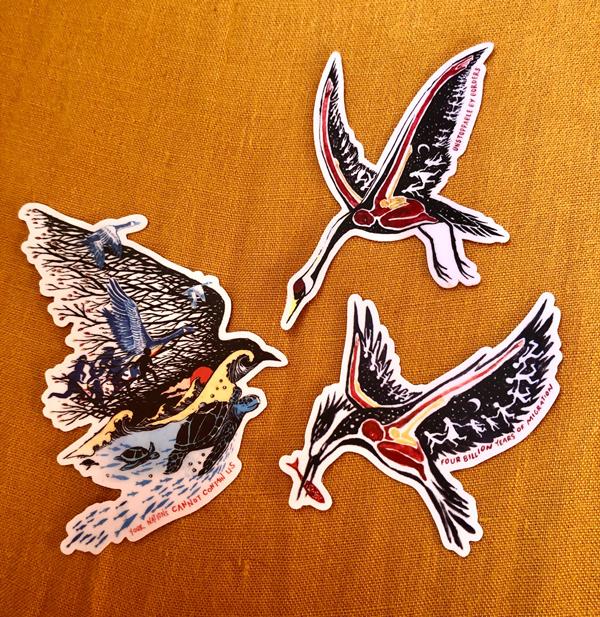 Migratory Sticker Set
