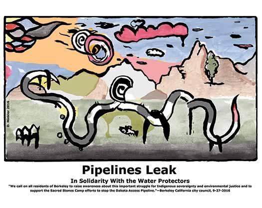 Pipelines Leak
