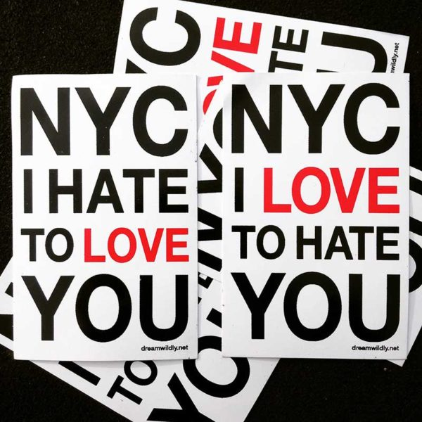 NYC I Love/Hate to Hate/Love You