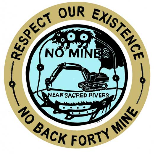 No Back Forty Mine Water is Life