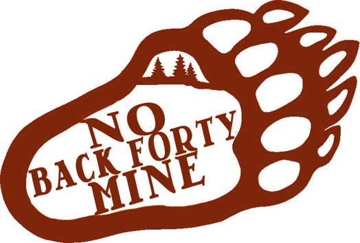 No Back Forty Mine – bear paw