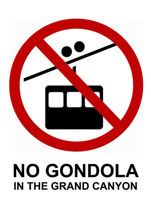 No Gondola in the Grand Canyon