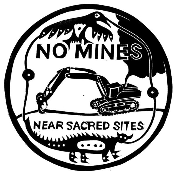 No Mines Near Sacred Sites