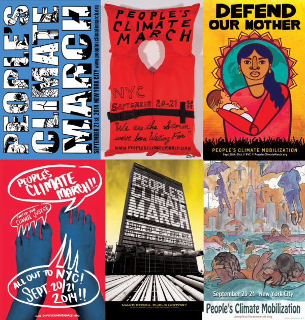 People's Climate March: Downloadable Posters
