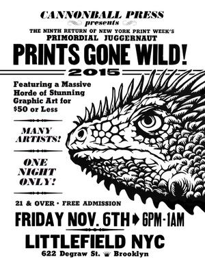 Prints Gone Wild! 2015