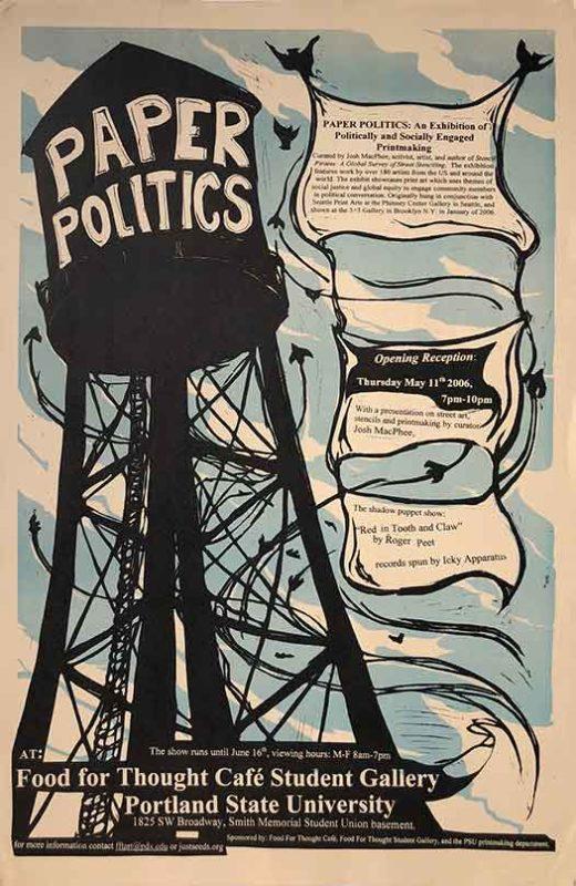 Paper Politics Poster
