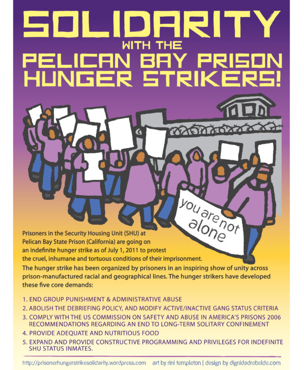 Solidarity with Pelican Bay Hunger Strikers