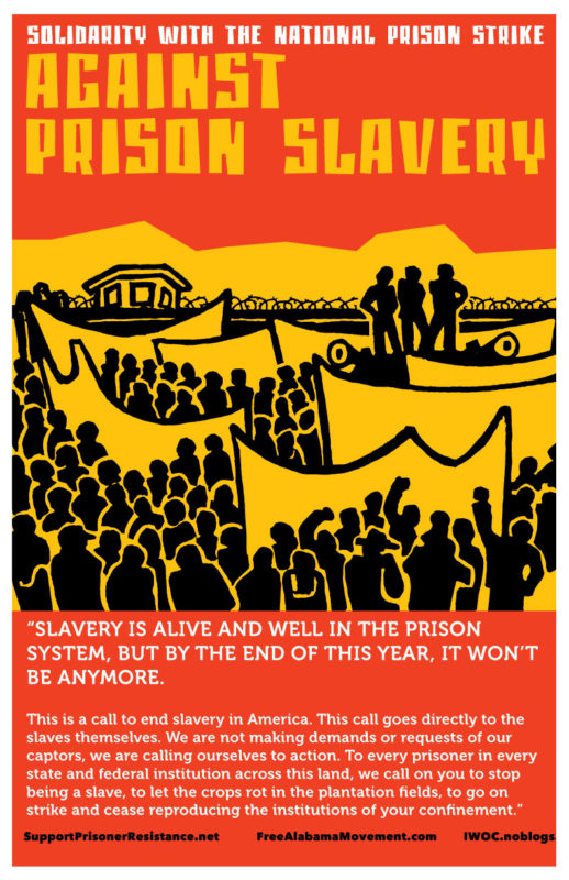 Solidarity with the National Prison Strole