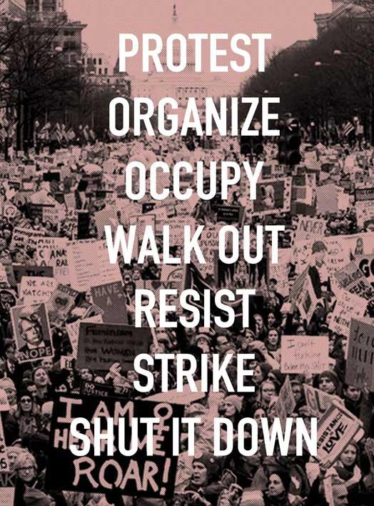 Protest, Shut it Down