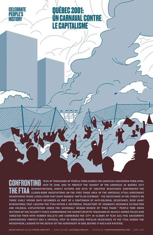Québec 2001: Un Carnaval Contre le Capitalisme