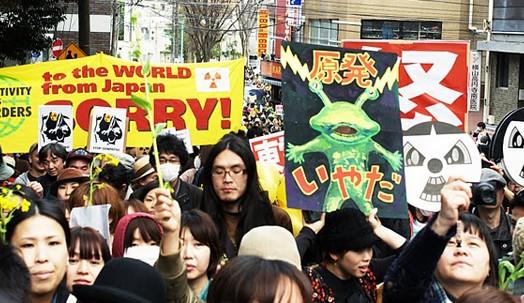 April 10th Anti-Nuclear Report Back