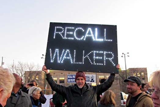 Recall Walker LED sign!