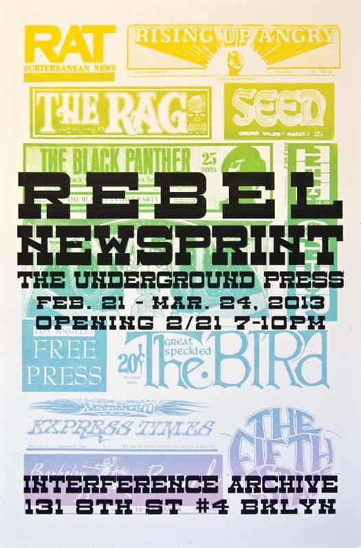 Rebel Newsprint