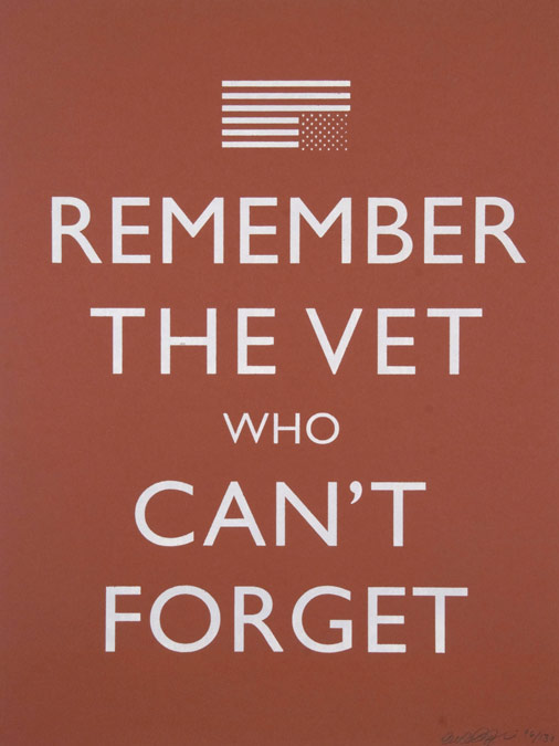 Remember the Vet Who Can't Forget