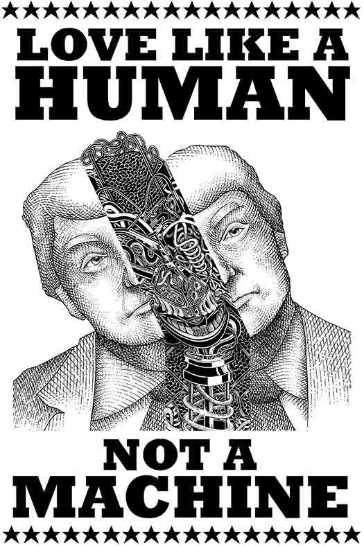 Love Like A Human Not A Machine