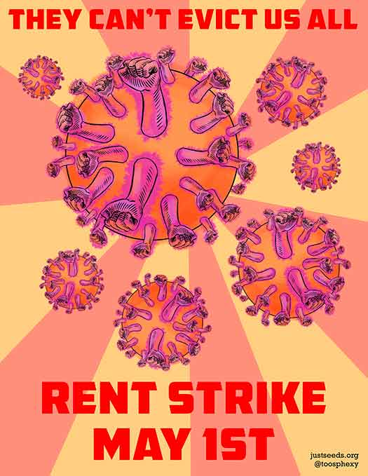 Rent Strike/Virus Strike