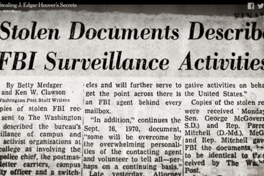 Whistleblowers and the 1971 break-in of an FBI field office