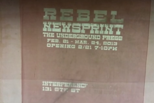 Rebel Newsprint!