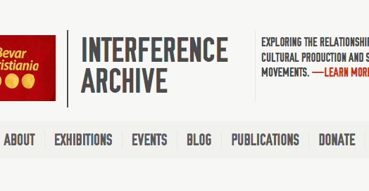 New Website for Interference Archive