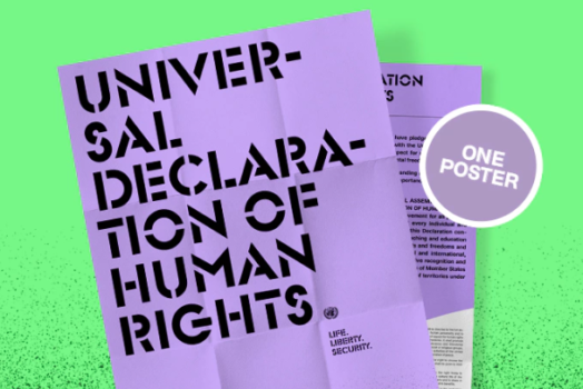 The Universal Declaration of Human Rights – Booklet Project : Kickstarter