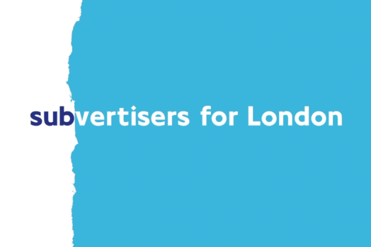 Subvertisers for London