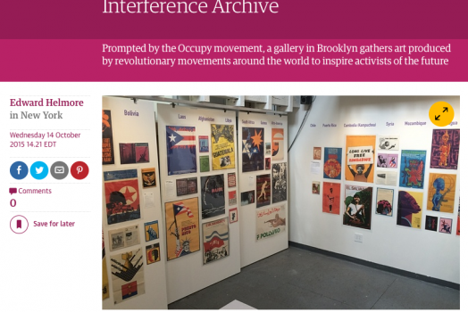 Interference Archive featured in <em>The Guardian</em>