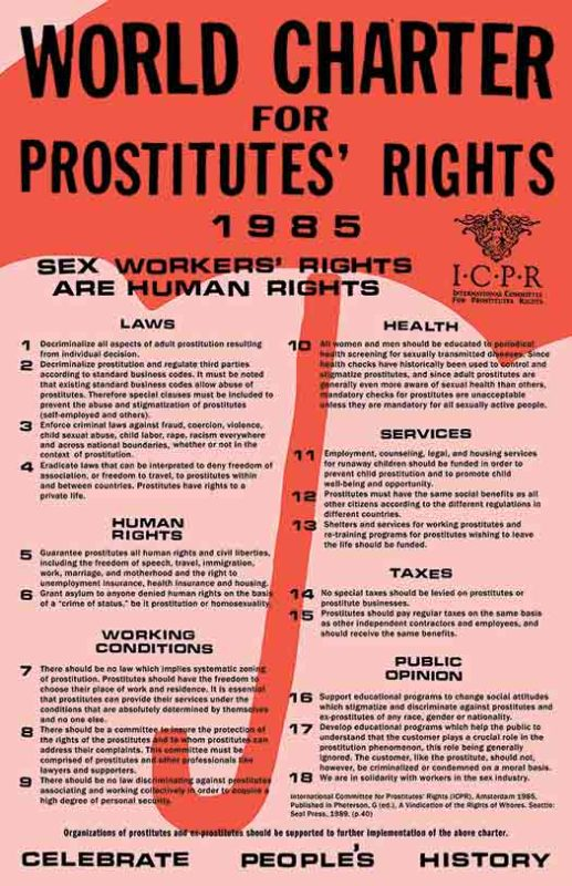 World Charter for Prostitutes' Rights
