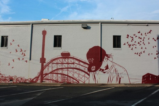 Stain Mural in Charlotte, NC