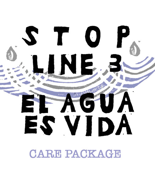Stop Line 3 Care Package