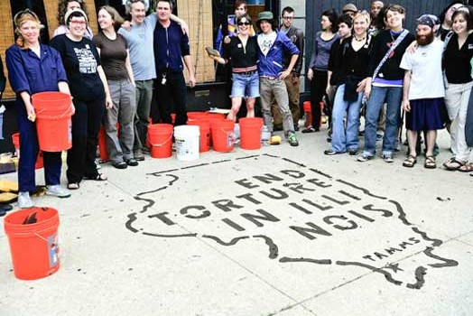 Decarcerate PA radio program: Creative Strategies for Social Struggles, Mud Stencils & The Closing of the Tamms Prison