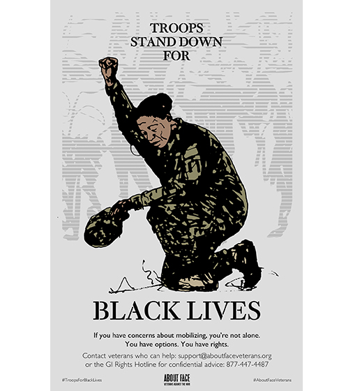 Troops Stand Down For Black Lives