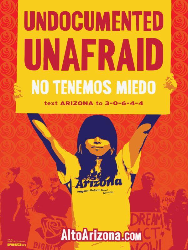 Undocumented. Unafraid. (No Tenemos Miedo)