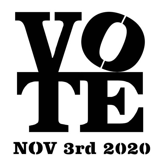 Vote Nov 3rd 2020
