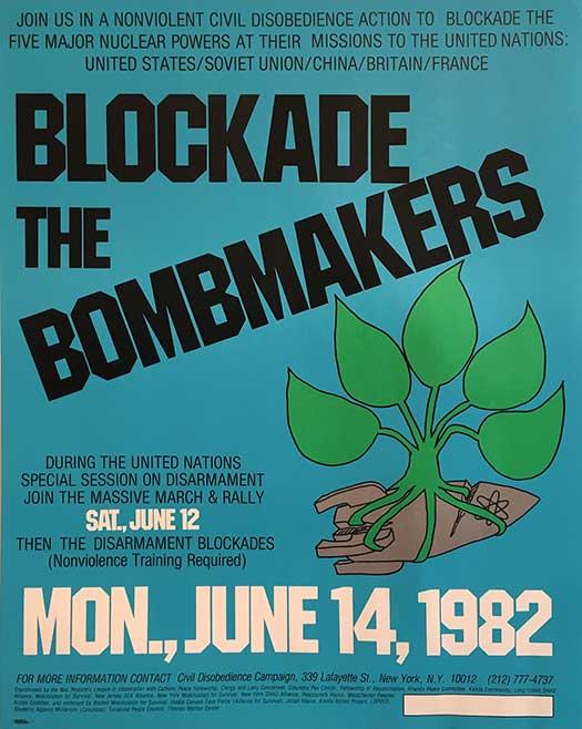 Blockade the Bombmakers