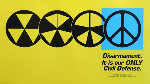 Disarmament. It is our ONLY Civil Defense.