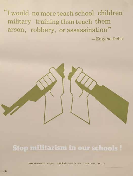 Stop Militarism In Our Schools!