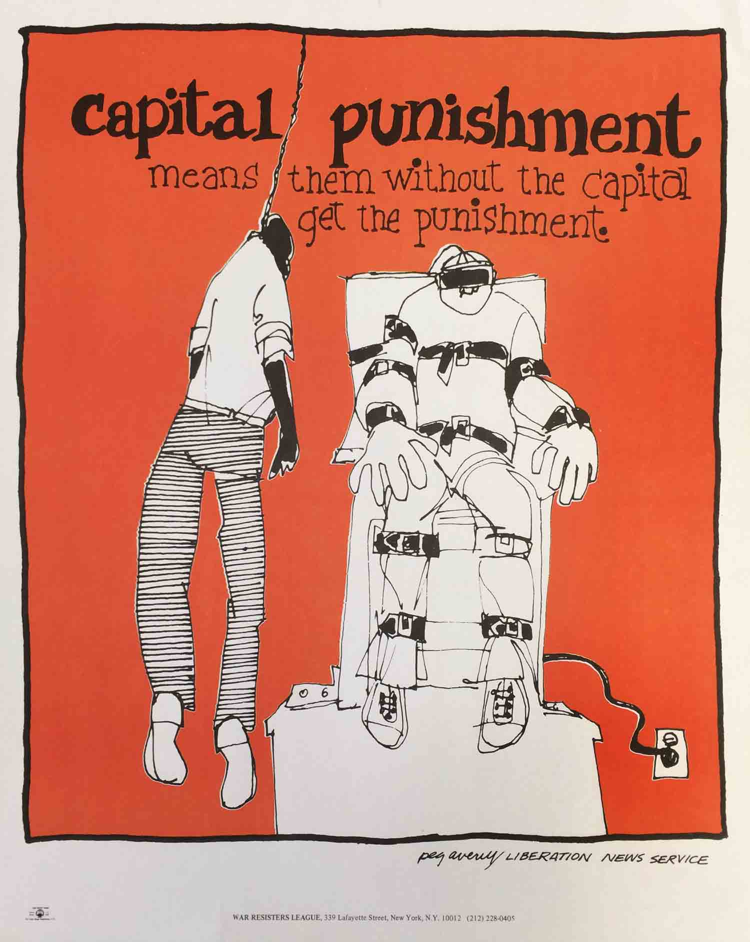an overview of the capital punishment as the means for the discipline of the criminals Strongly support means you believe: if you answer no opinion, this question is not counted in the votematch answers for any candidate.