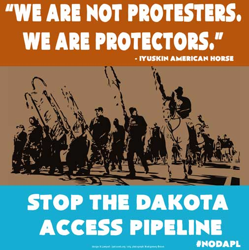 We Are Not Protestors. We Are Protectors.