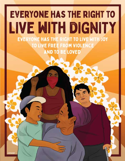 Everyone Has the Right to Live With Dignity