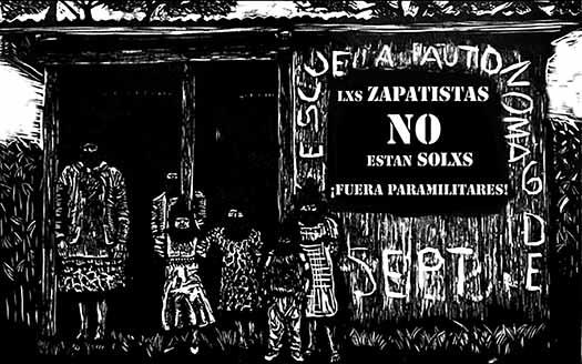 Lxs Zapatistas No Estan Solxs