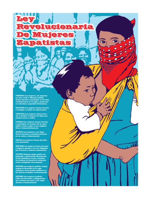 EZLN Women's Revolutionary Laws (Spanish)