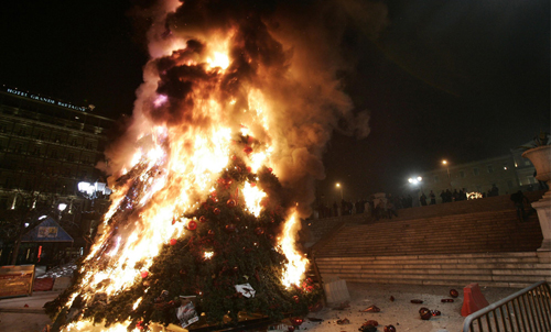 Chirstmas Cheer from Athens