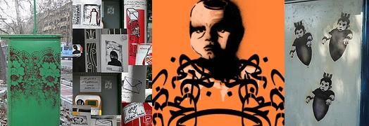 Iranian Street Artist A1ONE