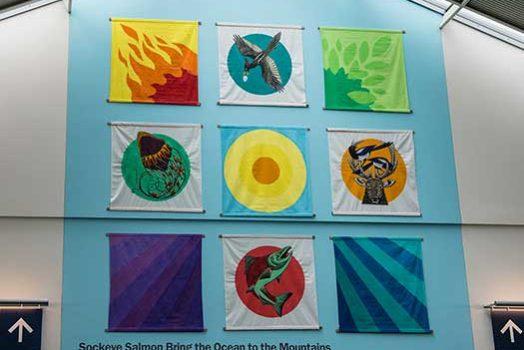 Endangered Species Mural #12: Sockeye Salmon