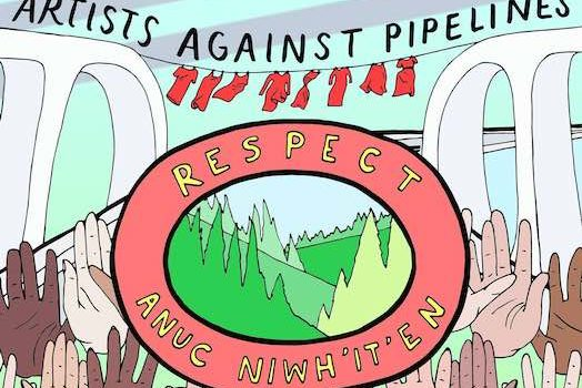 Artists Against Pipelines – Online Auction for Wet'suwet'en