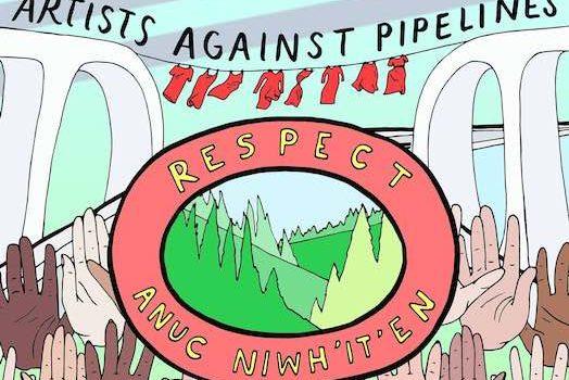 Artists Against Pipelines – Online Auction for Wet'suwet'en