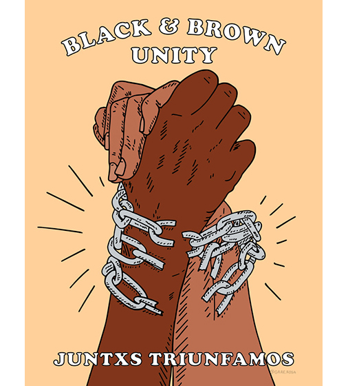 Brown Artists for Black Power Graphics Portfolio #1